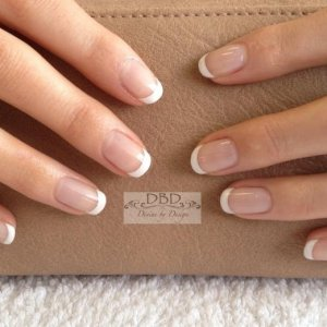 CND Shellac French, Clearly Pink & Cream Puff