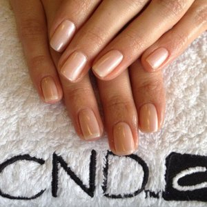 CND Shellac Nudes in Iced Coral and Moonlight & Roses