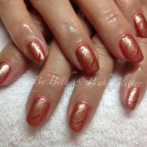 Copper Kettle and gold stamping