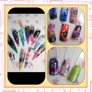 one stroke nail art training