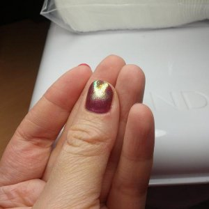 Shellac with additives.