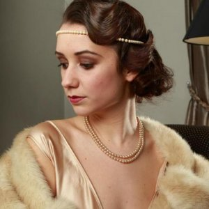 1920's/30's vintage-inspired hair and make-up