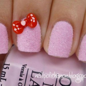 nail decorations the bow-knot  :D