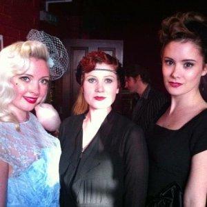 spiegeltent launch, Brighton. Hair and Make-up