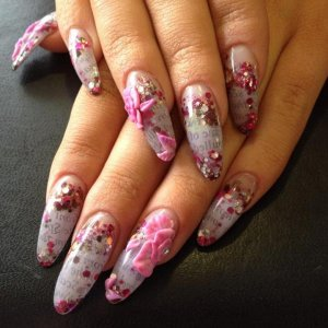 1st Place Scottish Nail Technician of the year 2011  Nail Art Challenge