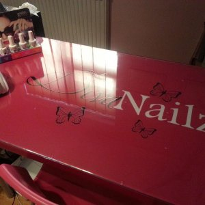 My new nail desk :)
