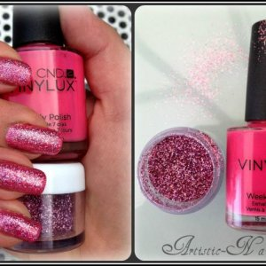 Vinylux Rockstar with Pink Bikini