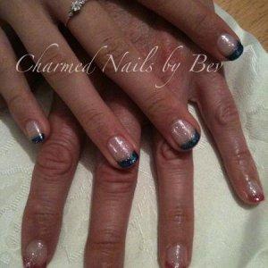 Mother & daughter Gelish nails