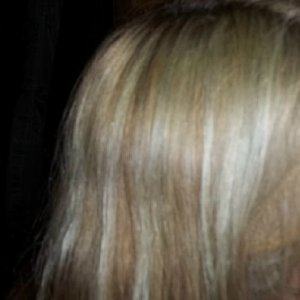 gray,green,mess, result of  lightening then using too much of an ash toner.