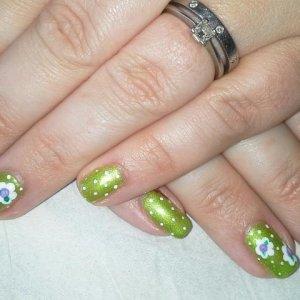 Shellac Limeaid Cath Kidston inspired.