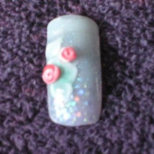 Nails 004-My attempt @  the rose Tut.