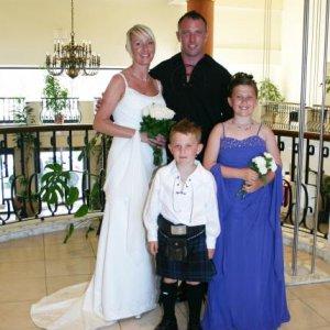 Me, James , Holly & Josh (my wee boy))