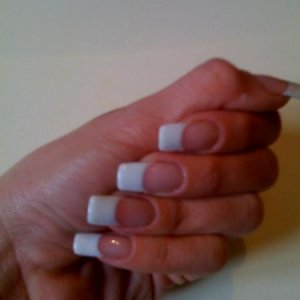 My first set of sculpted gels 2008( on myself)