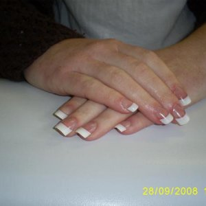 my nails done today