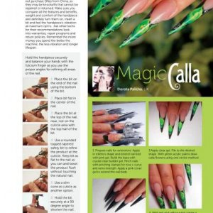 """Magazine work """"Your Nails"""" page 057"""