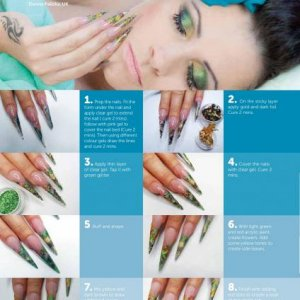 """Magazine work """"Your Nails"""" document page 062"""