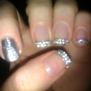 Gem Tips with Statement Nail