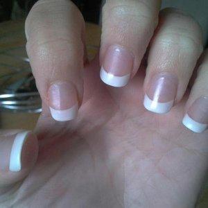 White Acrylic Tips