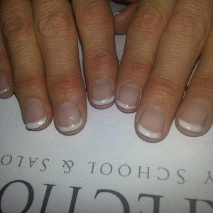 Natural nail acrylics