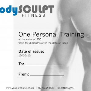 Body sculpt personal training