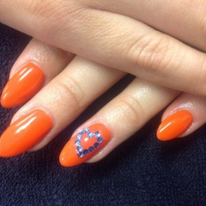 Enhancements with shellac a crystal hearts