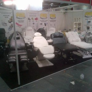 Pro Beauty London 2014 - Take a look at our exclusive treatment couches