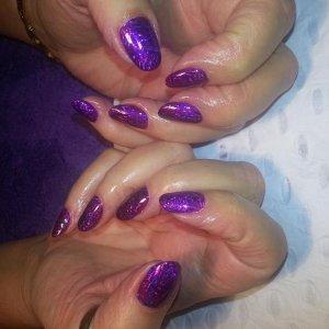No 61 with purple foil