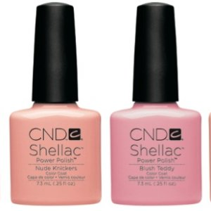 CND Shellac Nudes - The Intimates Collection
