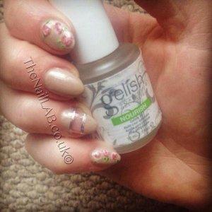 gelish design nails
