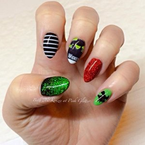 My 'Wicked' nails