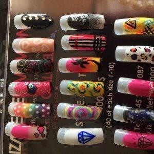 Nail art by me xxx