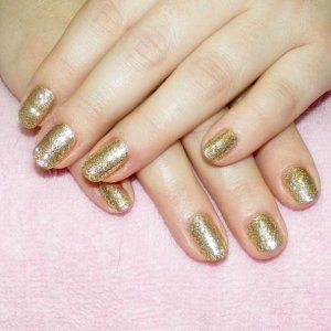 """Twinkle Shellac in """"Antique Gold"""" twinkle additive"""
