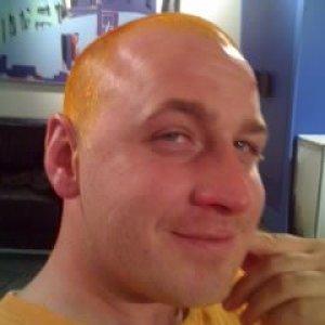 gave a dj buddy orange fuzz
