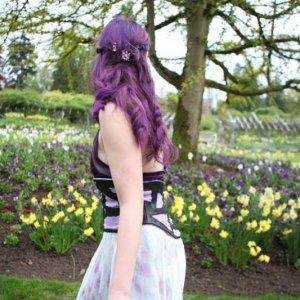Shades of violet/natural sunlight