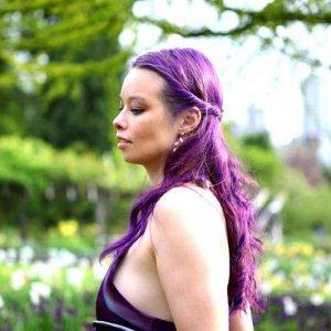 purple/violet/natural sun light=photo
