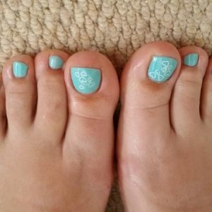Gellux butterfly blue with moyou stamp hearts