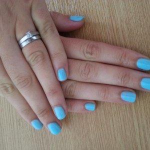 Gellux butterfly blue