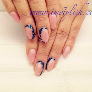 Ext. with Gelish design