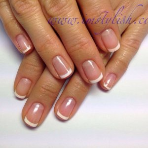 Gelish french manicure