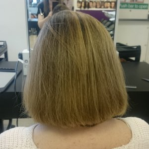 Cut and blow dry