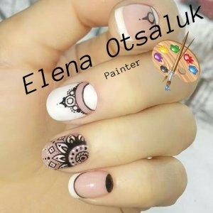 Mandala Nail Art