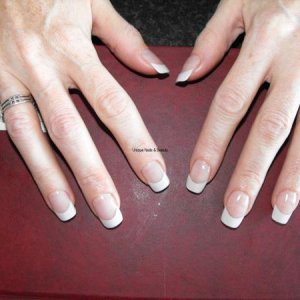 Own Nails white & pink L&P