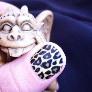 Gold Cheetah Minx