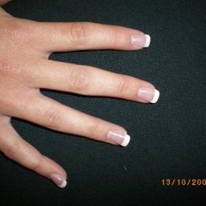 2nd set of nails on neice.