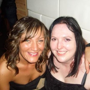 Andrea (Hello Kitty) and Kirsty (Amythist Angel)