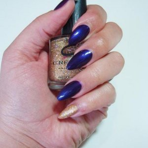 natural tips with french polish