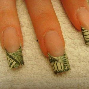 Drag queen's nails art