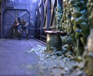 action figure NECA ALIENS Hadly's hope diorama FINISHED!