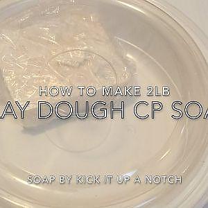 Play Dough CP Soap  Recipe Part 1 of 2  Soap Dough - YouTube