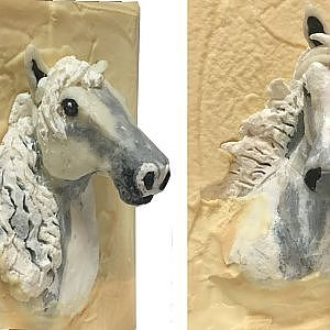 """Making """"White Horse"""" Cold Process Soap Art - YouTube"""